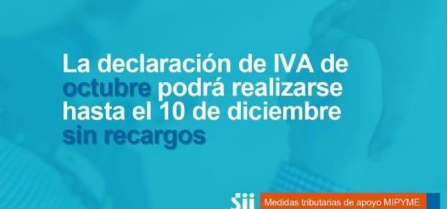 Prorroga IVA 10 Dic. 2019