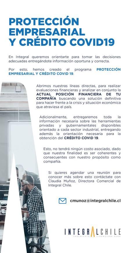 Protección Empresarial y Crédito Covid 19