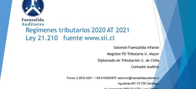 Regímenes Tributarios 1